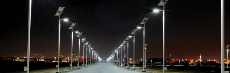 Solar LED Street Light System Comes With Li Ion Battery Which Can Be Fitted  Just Below The Solar Panel And Has A Long Life Charged Within 5 Hours  During Day ...